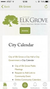 Elk Grove City Calendar