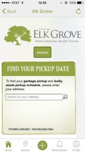 Elk Grove Trash Pickup